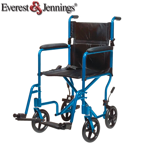'Blue Transport Chair'