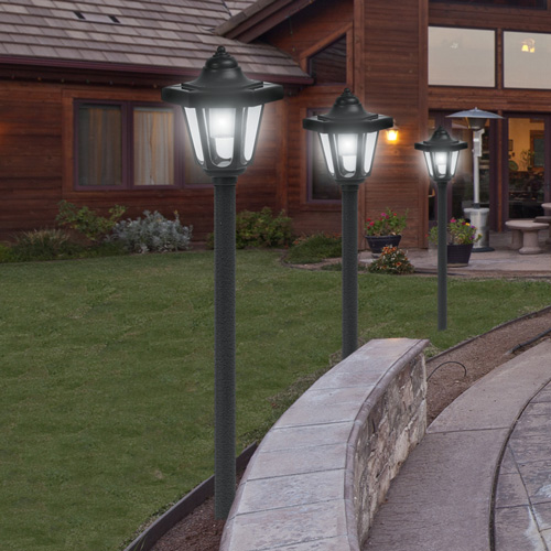 'Coach Style Solar Lights - 4 Pack'