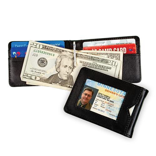 'Carlos Chavez RFID Clip Wallet'