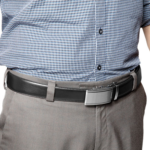 'Link Belts with Satin Buckles'
