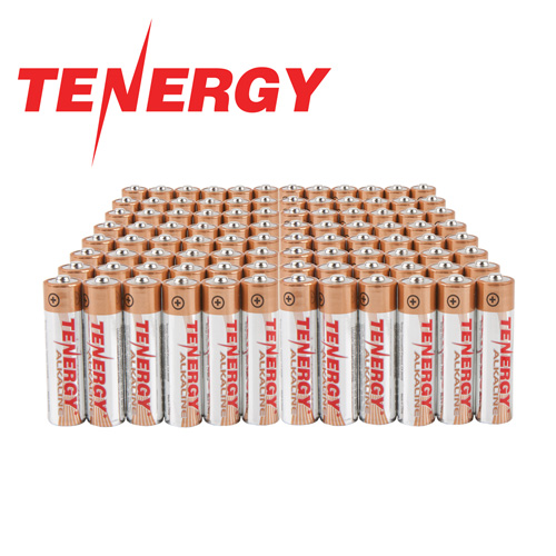 AAA Tenergy Alkaline Batteries - 96 Pack