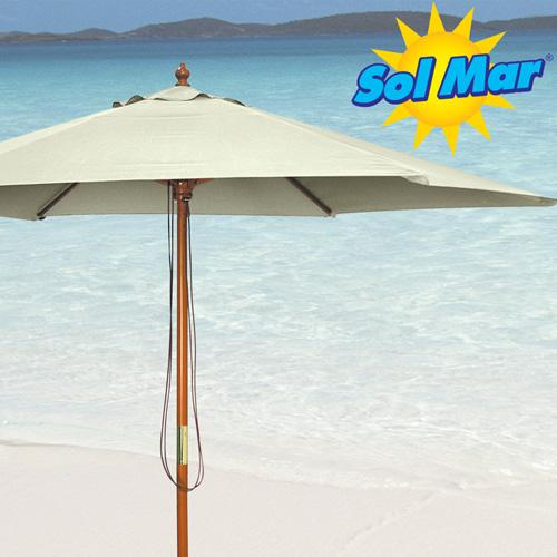 'Solmar Natural Market Umbrella'