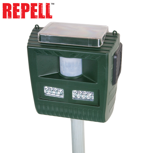 '3-in-1 Solar Animal Repeller'