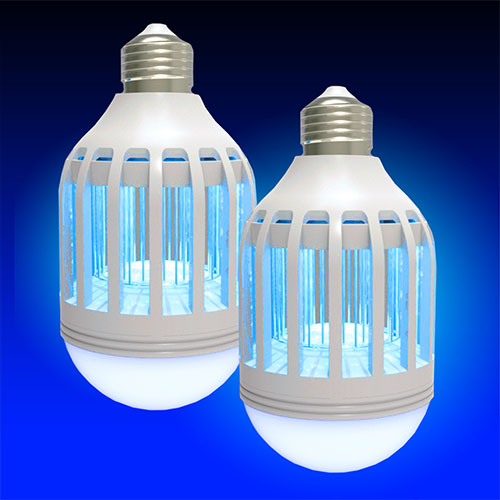 2 IN 1 Mosquito LED Bulb