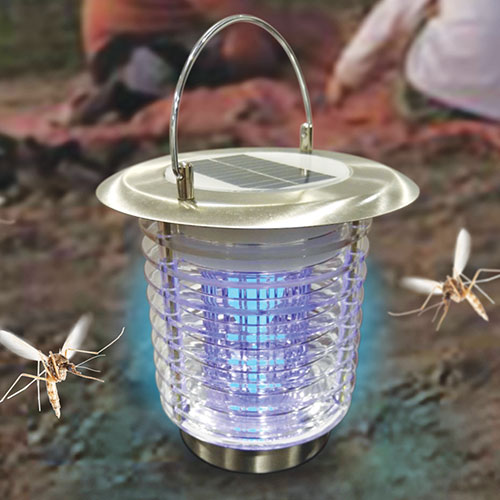 Solar Bug Zapper Lantern