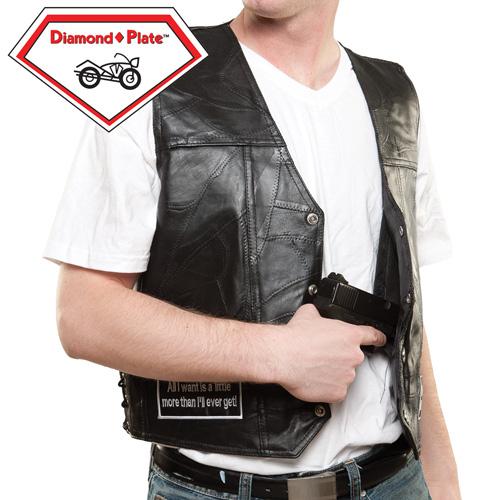 'Concealed Motorcycle Vest'