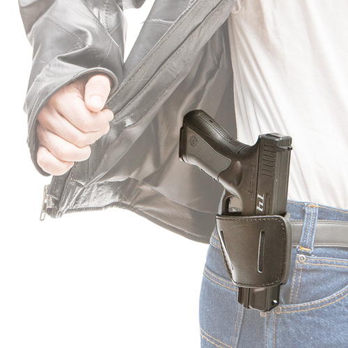'Leather Belt Holster - S/M'