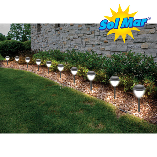 'Sol Mar Solar Garden Lights - 10 Pack'