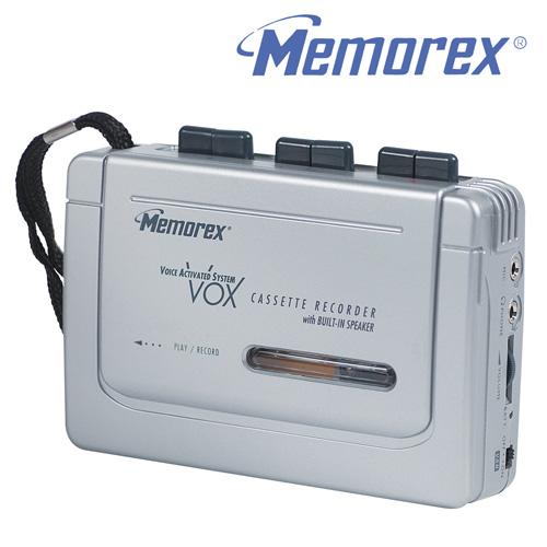 'Memorex Full Size Cassette Recorder'
