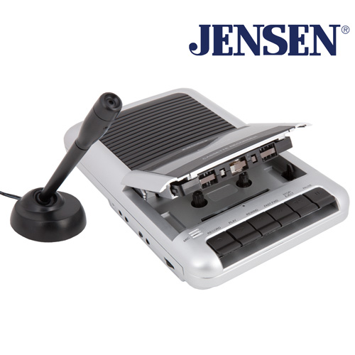 'Jensen Cassette Player/Recorder'