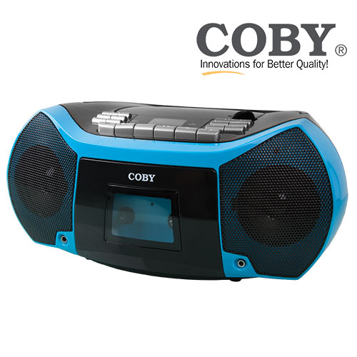'Coby CD/Cassette Player & Recorder'