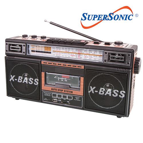 'SuperSonic Radio/Cassete Player'