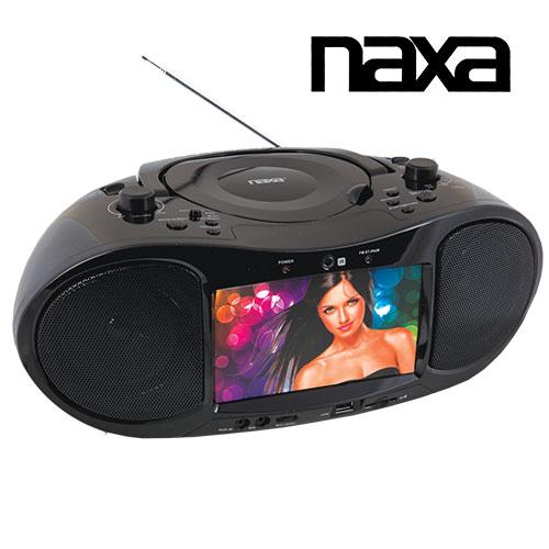 'Naxa 7IN Boombox TV'