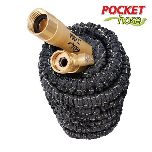 'Top Brass Pocket Hose - 75 Ft.'