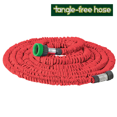 '25Ft. Tangle-Free Hose with Sprayer'