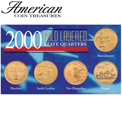 'Gold State Quarters'
