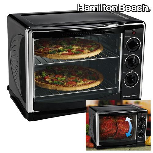 Hamilton Beach Countertop Convection Rotisserie Oven Xl : Hamilton Beach Convection Oven/Rotisserie Model# 31198