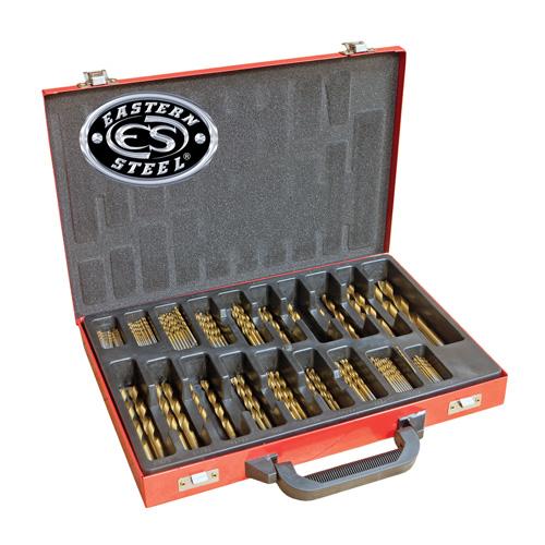 214 Piece Titanium Drill Bit Set