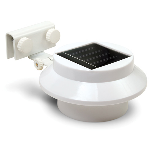 2 Pack Solar Gutter Lights