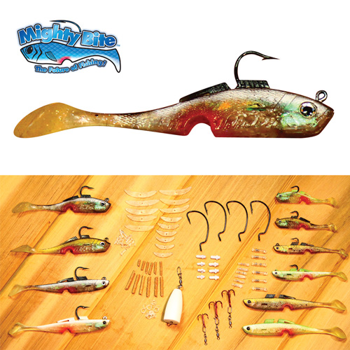 'Mighty Bite Fishing Lures'