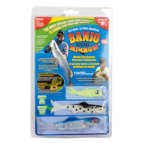 Banjo Fishing Minnows