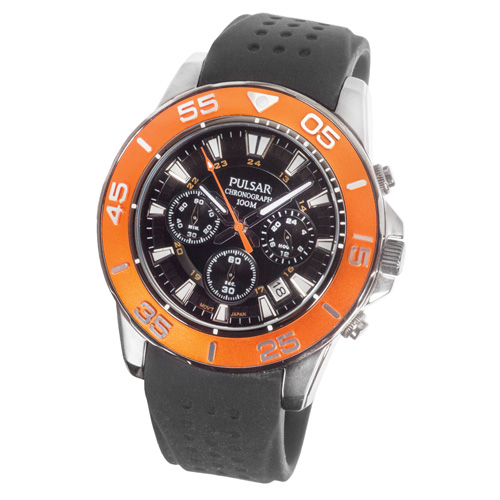 'Pulsar Sports Chronograph Watch'