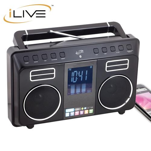 'iLive FM/Bluetooth Boombox'