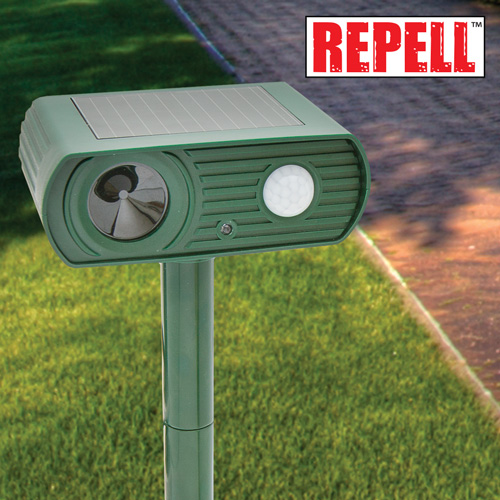 Solar Animal Repellers - 2 Pack