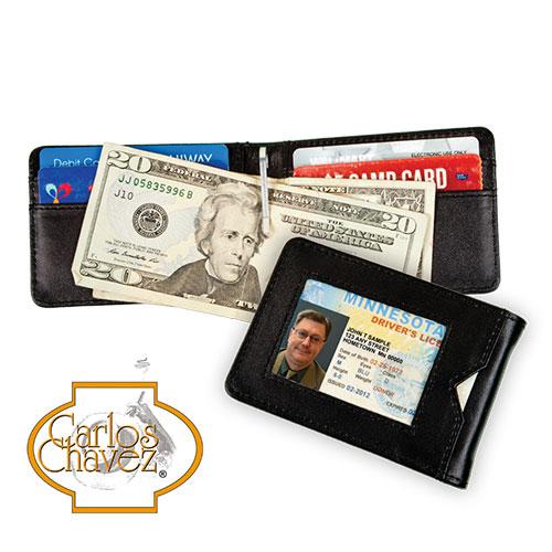 Carlos Chavez RFID Clip Wallet