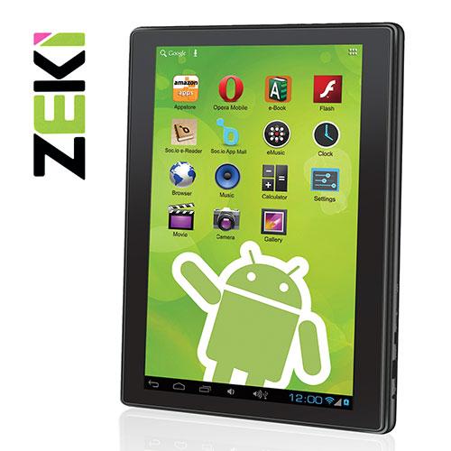 Zeki Dual Core Tablet