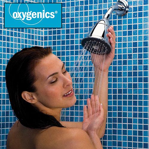 'Oxygenics Trispa Showerhead'