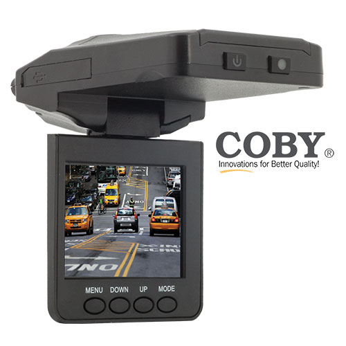 Coby HD Car Dash Cam