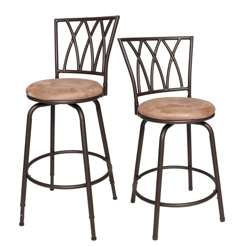 'Adjustable Height Bar Stool - Set of 2'