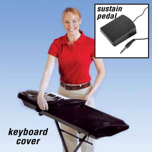 'Dust Cover/Sustain Pedal Combo'