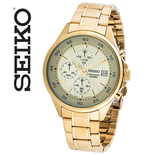 'Seiko SLS482 Chronograph Watch'