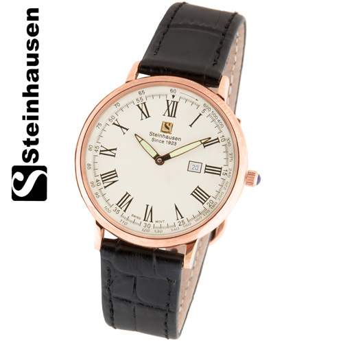 'Steinhausen Dunn Horitzon Legacy Watch - Rose Gold'