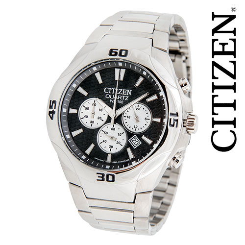 Citizen Quartz Stainless Chrono Watch