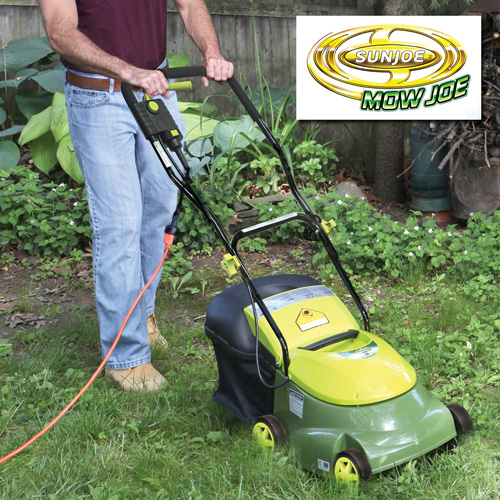 'Sun Joe 14 inch Electric Lawn Mower'