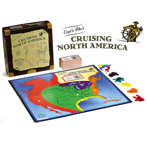 'Captain Pikes Cruising North America'