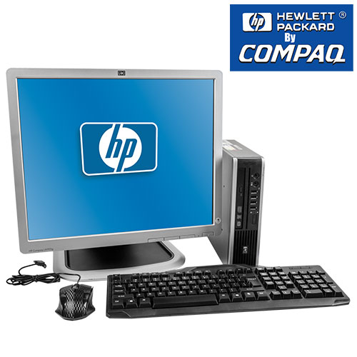 'Hewlett Packard by Compaq Computer'