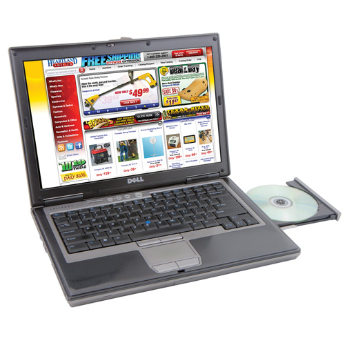 'Dell Duo Core Laptop - 80GB'