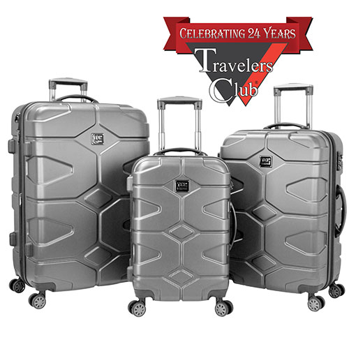 'Axel 3 Piece Luggage Set'