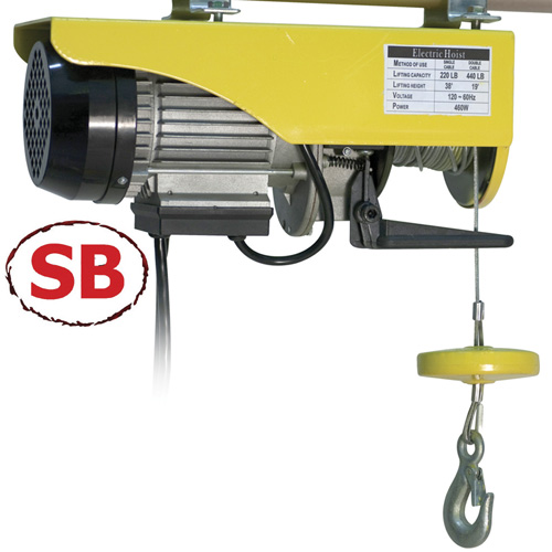 'Electric Garage Hoist'