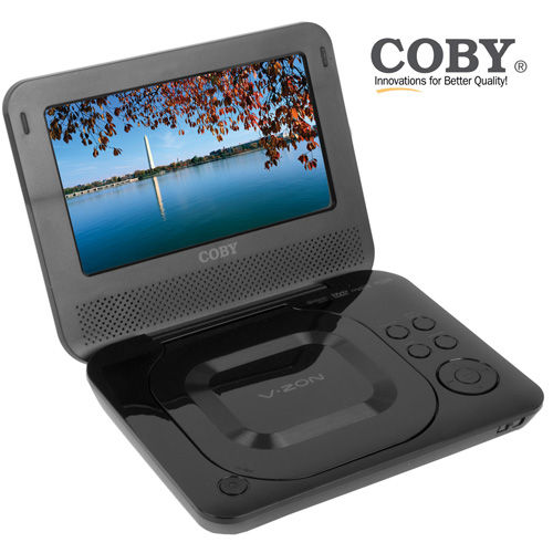 'Coby 7 inch Portable DVD Player'