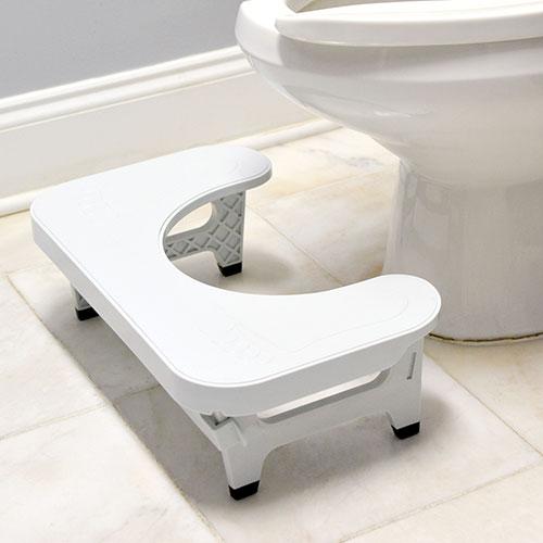 Foldable Toilet Stool