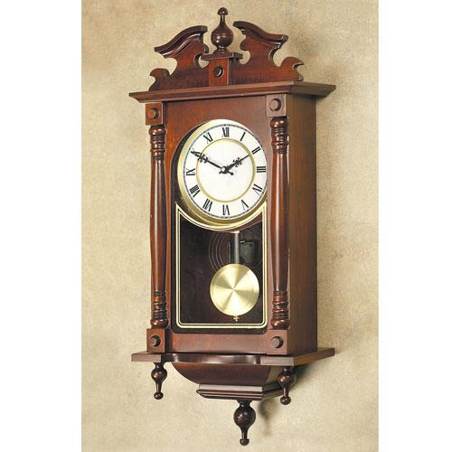 quartz solid wood heirloom wall clock model yw046q ebay