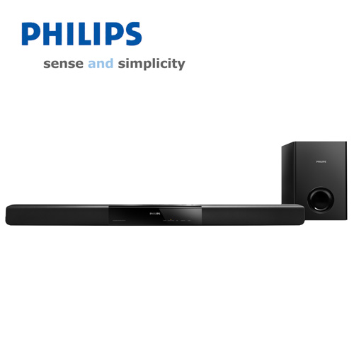 Philips 2.1 Soundbar & Subwoofer