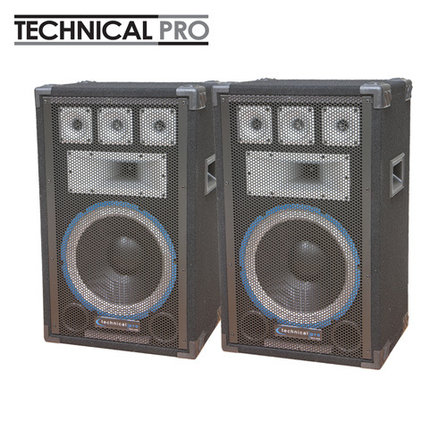 'Technical Pro Professional Carpet Speakers'
