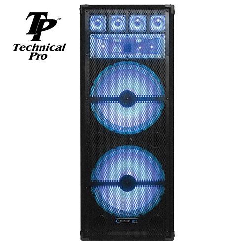 'Double 15in 7-Way Led Speaker'