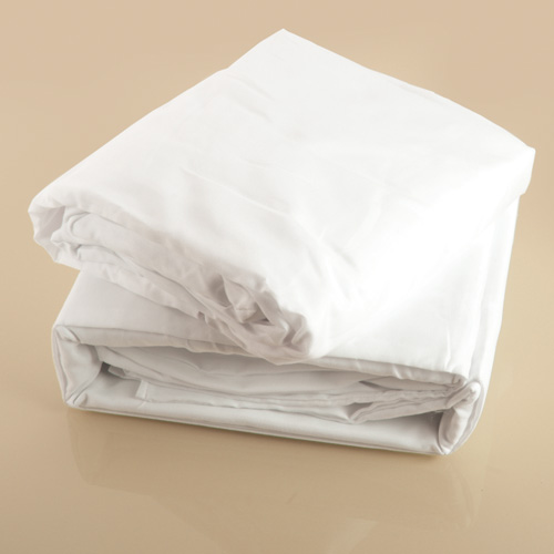 White Microfiber Sheet Set - Twin